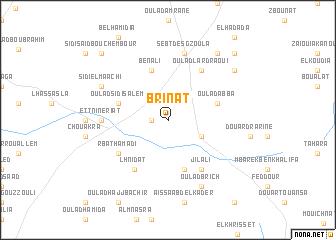 map of Brinat