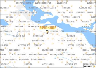 map of Brinkhof