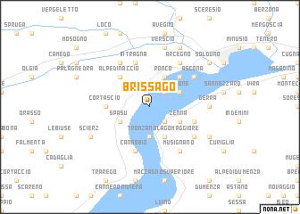 map of Brissago