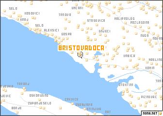 map of Bristova Doca