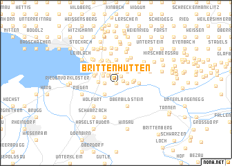 map of Brittenhütten
