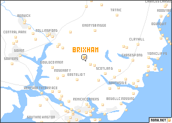 map of Brixham