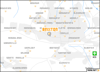 map of Brixton