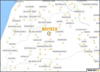 map of Briyech