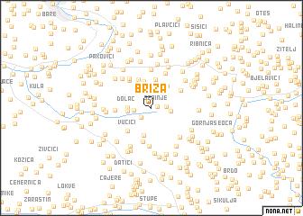 map of Briza