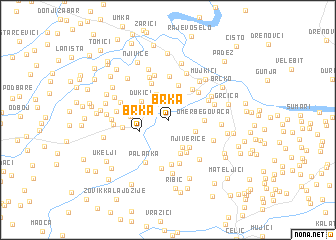 map of Brka