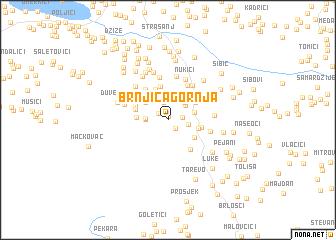 map of Brnjica Gornja