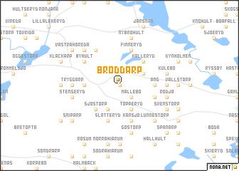 map of Broddarp