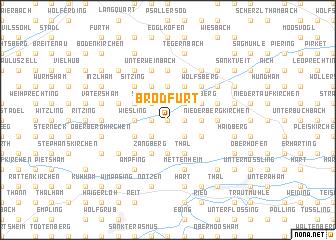 map of Brodfurt