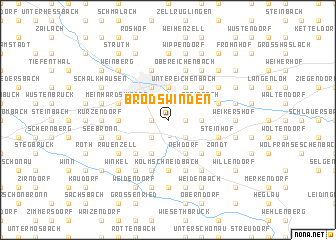 map of Brodswinden