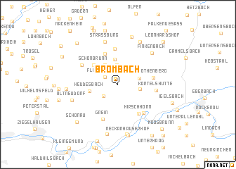 map of Brombach