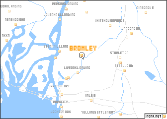 map of Bromley