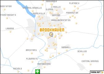 Brookhaven (United States   USA) map   nona.net