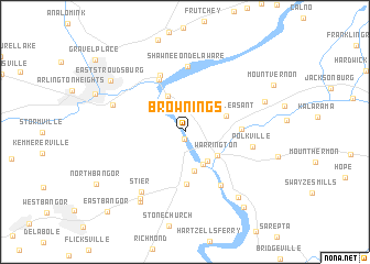 map of Brownings