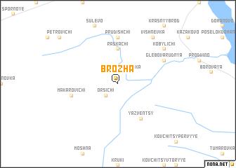 map of Brozha