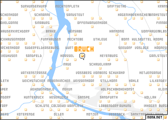 map of Bruch