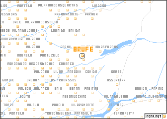 map of Brufe