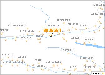 map of Bruggen