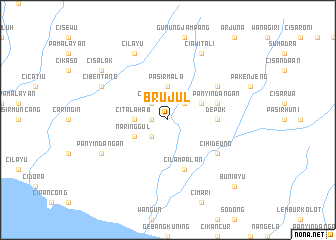 map of Brujul