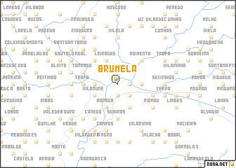 map of Brumela