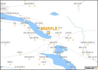 Brunflo Sweden Map Nonanet - Jamtland sweden map