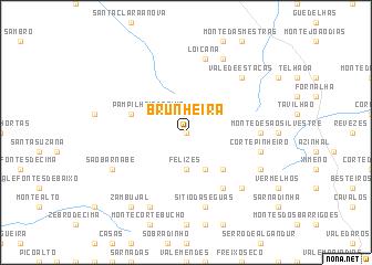 map of Brunheira