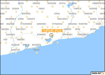 map of Brunibuma