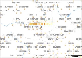 map of Brunnenteich
