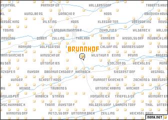 map of Brunnhof