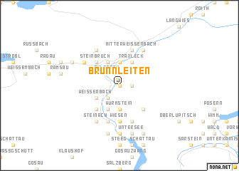 map of Brunnleiten