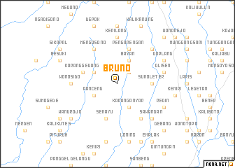map of Bruno