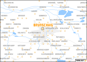 map of Brunschwig