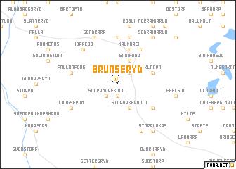 map of Brunseryd