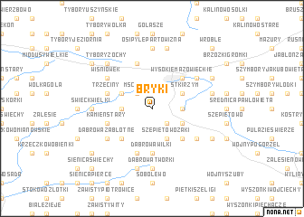 map of Bryki