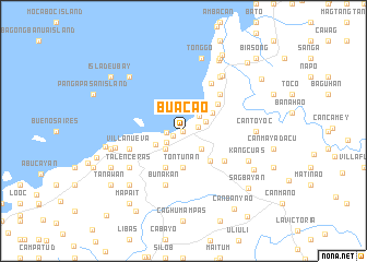 map of Buacao