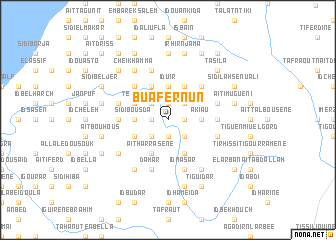 map of Bu Afernun