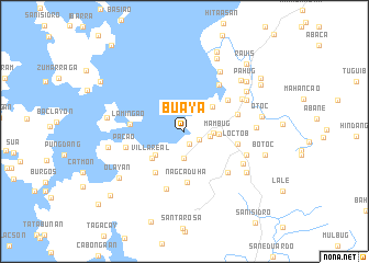 map of Buaya