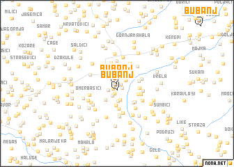 map of Bubanj