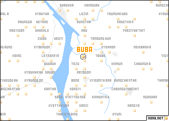 map of Buba