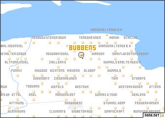 map of Bübbens