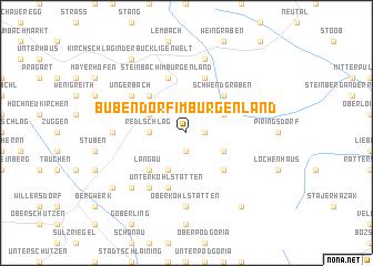 map of Bubendorf im Burgenland