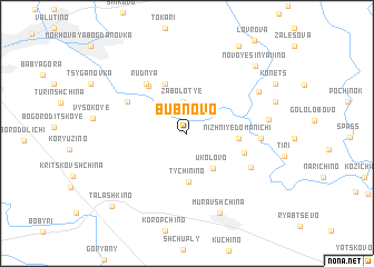 map of Bubnovo
