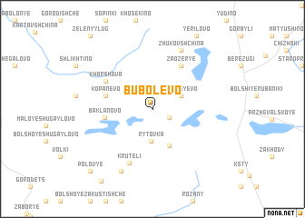 map of Bubolevo