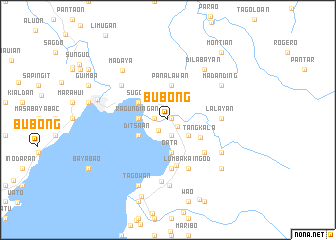 map of Bubong