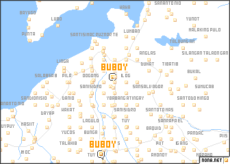 map of Buboy
