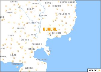 map of Bubual