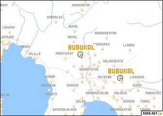 map of Bubukal