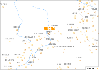 map of Buçaj