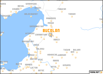 map of Bucalan