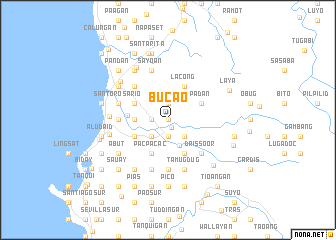 map of Bucao